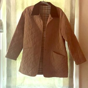 Men's Burberry Quilted Jacket